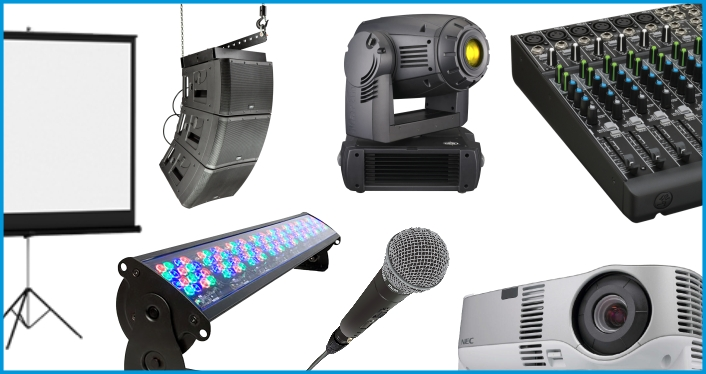 Audio Visual Equipment Rentals
