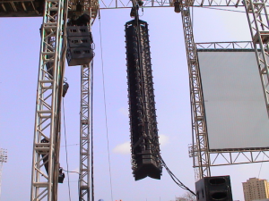 concert line array systems
