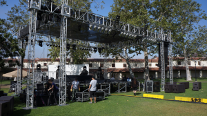 staging and sound for music festivals