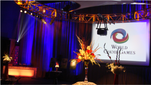 video projection and lighting for events